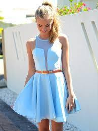 blue teen dresses oasis amor fashion