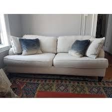 Linen Sleeper Sofa Rowe Custom Made Linen Sleeper Sofa Aptdeco