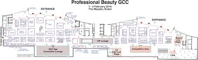 professional beauty gcc floorplan