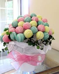 Cake Pop Decorations For Baby Shower Best 25 Cake Pop Bouquet Ideas On Pinterest Baby Shower