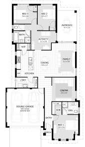 three bedroom house blueprints 3160