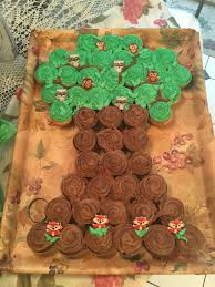 woodland creature tree cupcake cake food pinterest woodland