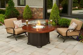 Firepit Top 48 Artisan Top Colonial Outdoor Pit Table