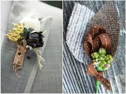 burlap boutonniere beautiful burlap wedding ideas
