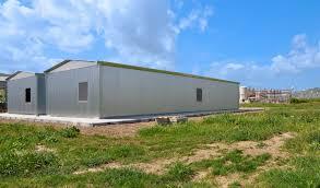 capannone in lamiera monoblocchi container prefabbricati coibentati modulari