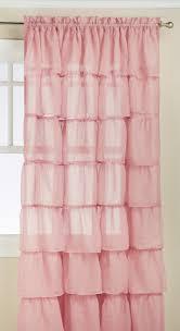 Vertical Ruffle Curtains by Interior Pricilla Curtains White Ruffle Curtain Panel White