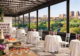 venue for wedding rooms with a view boston magazine