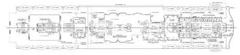 titanic floor plan plan of the boat deck