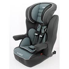 sieges auto nania nania siège auto rehausseur dossier avec harnais i max sp luxe gris