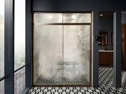 shower door spacer shower door guide bathroom kohler