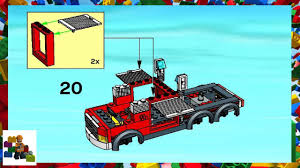 truck instructions instructions city fire 7239 fire truck book 1 youtube