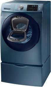Samsung Blue Washer And Dryer Pedestal Samsung Wf45k6200az 27 Inch 4 5 Cu Ft Front Load Washer With