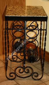 wrought iron wine racks u0026 wine tables steel expressions