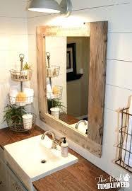 Frame Bathroom Mirror Kit Mirror Frame Kits For Bathroom Mirrors Best Border Ideas On Wood
