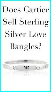 silver love bangle bracelet images Sterling silver cartier love bracelet jpg