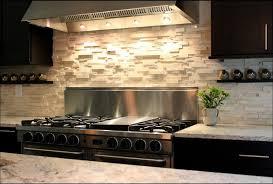 Kitchen  Faux Brick Backsplash Steel Backsplash Ceramic Tile - Rock backsplash