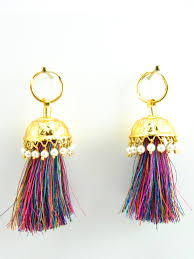 lotan earrings these earring are the epitome of the punjabi culture made with