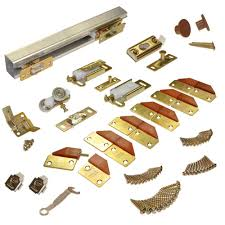 Barn Door Track System Home Depot by Johnson Hardware 100fd Series 60 In Track And Hardware Set For 4