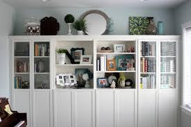 billy bookcase hack diy built in bookshelves ikea billy hack vanilla joy