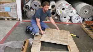 Laminate Floor Door Edging Strips Trim A Trap Door With Jonny Corners Youtube