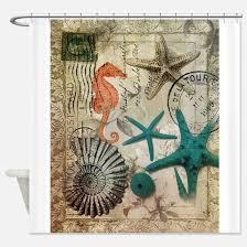 Vintage Nautical Shower Curtain Nautical Shower Curtains Cafepress
