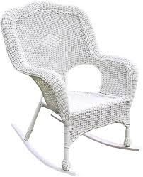 Patio Rocking Chair International Caravan Chelsea Outdoor Wicker Resin Patio Rocking