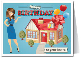 happy birthday to your house real estate card 15228 harrison
