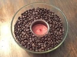 coffee bean candle craft of the day coffee infused candle