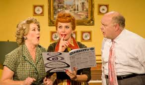 i love lucy chicago theater review i love lucy live on stage broadway