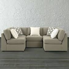 sectional u shaped sectional sofa with recliners u shaped