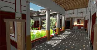archaeologists virtually recreate house caecilius iucundus in