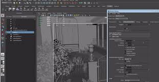 Vray Physical Camera Settings Interior Irradiance Map And Light Cache Baking In Vray And Maya Lugher 3d