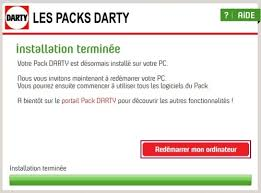 darty ordinateur bureau darty serenite assistance installer mise à jour du pack