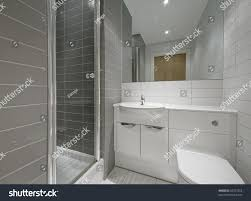 En Suite Bathrooms by Modern Ensuite Bathroom Shower Cabin Floor Stock Photo 43237552