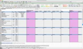 Workout Excel Spreadsheet Mark Says