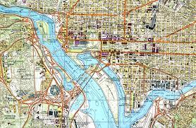map of washington hyper detailed soviet maps of washington architect of the capital