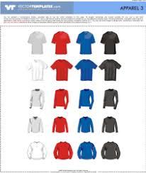 vector apparel vector clothes templates