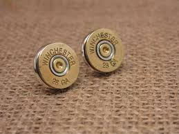 gun earrings sureshot jewelry shotgun casing earrings