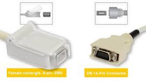 nihon kohden spo2 sensors and cables