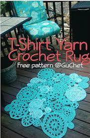 Crochet Tshirt Rug Pattern Ravelry T Shirt Yarn Rug Pattern By Gu U0027chet
