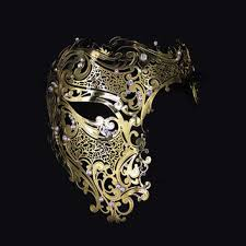 silver masquerade masks for women best phantom masquerade mask products on wanelo