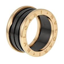bvlgari price rings images Bvlgari b zero1 four band 18 kt rose gold and black ceramic ladies jpg