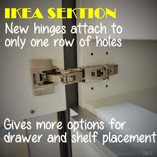 How To Fix Kitchen Cabinet Hinges by Sektion U2013 What I Learned About Ikea U0027s New Kitchen Cabinet Line
