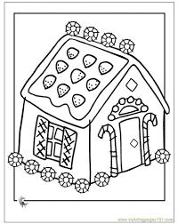 casa di marzapane bella colorazione pagina 64 in pagine da