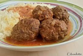 cuisiner des boulettes de boeuf recette boulettes de boeuf à la marocaine 750g