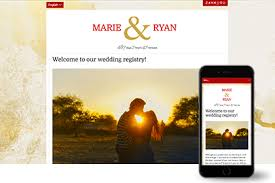 place to register for wedding online wedding registry zankyou