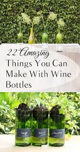 Wine Bottle Home Decor 22 Amazing Things You Can Make With Wine Bottles