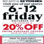 Bed Bath And Beyond Syracuse Bed Bath U0026 Beyond Black Friday 2017 Ads Deals And Sales