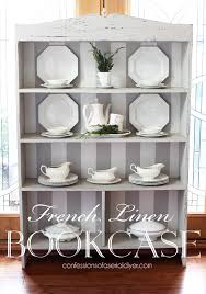 Annie Sloan Painted Bookcase Estate Sale Bookcase Makeover Confessions Of A Serial Do It