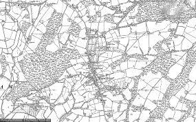 hurst map maps of hurst green francis frith